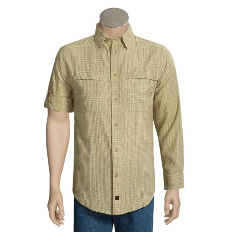 Woolrich Updated Westford 3XDRY®Shirt - UPF 15+, Button-Up Sleeves (For Men)
