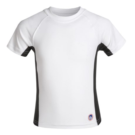 Mr. Swim Side-Panel Rash Guard - UPF 50+, Short Sleeve (For Big Boys)