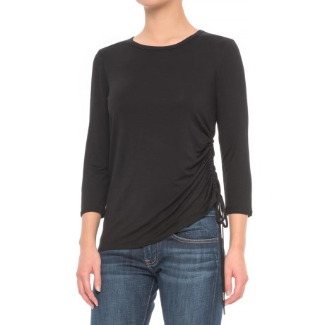 CG Cable & Gauge Drawstring Shirt - 3/4 Sleeve (For Women)