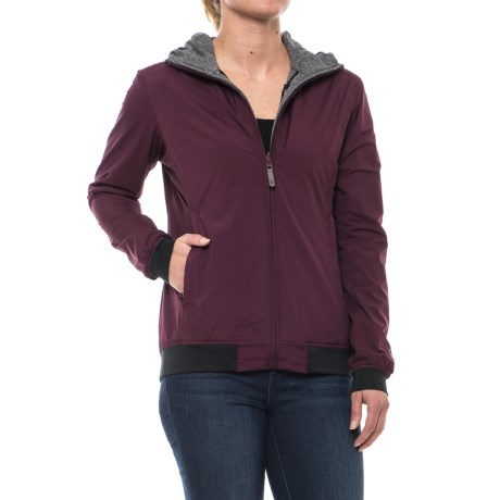 Sierra Designs Outside-In Reversible Hooded Jacket (For Women)