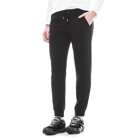 CG Cable & Gauge Knit Joggers (For Women)
