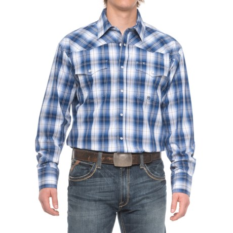 Roper Western Snap Shirt - Long Sleeve (for Men)