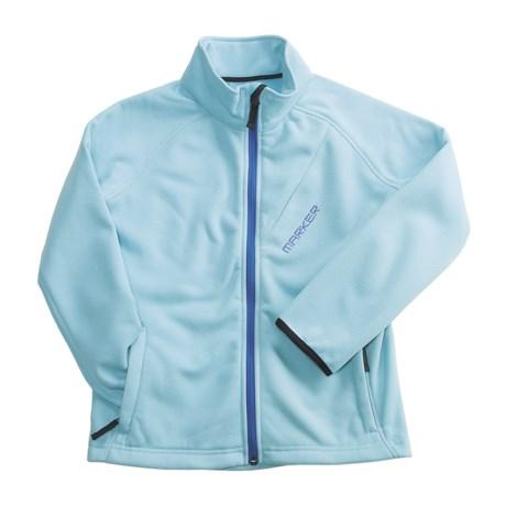 Marker Fleece Jacket (For Girls)