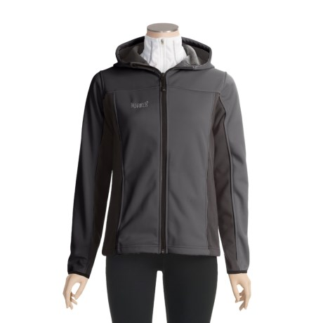 Marker Athena Fleece Jacket - Windstopper®, Hooded (For Women)