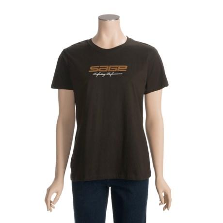 Sage Perfecting High-Performance T-Shirt - Organic Cotton, Short Sleeve (For Women)