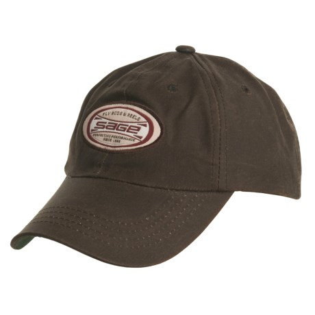 Sage Oilcloth Fishing Hat