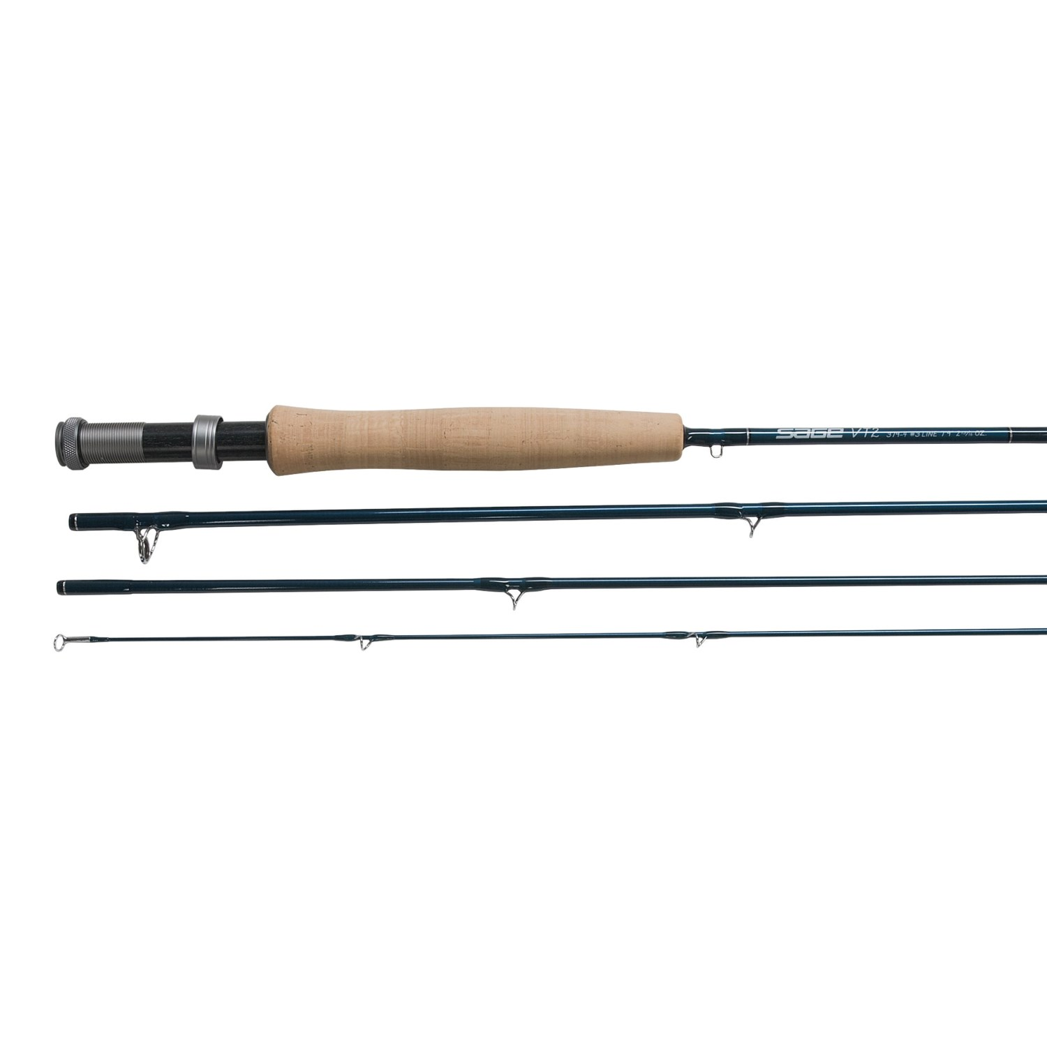 Sage vt2 fly fishing rod 3wt 4wt 4 piece 3105r save 21 for Sage fly fish