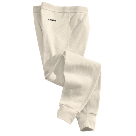 Carhartt Cotton Thermal Base Layer Bottoms - Factory Seconds (For Tall Men)