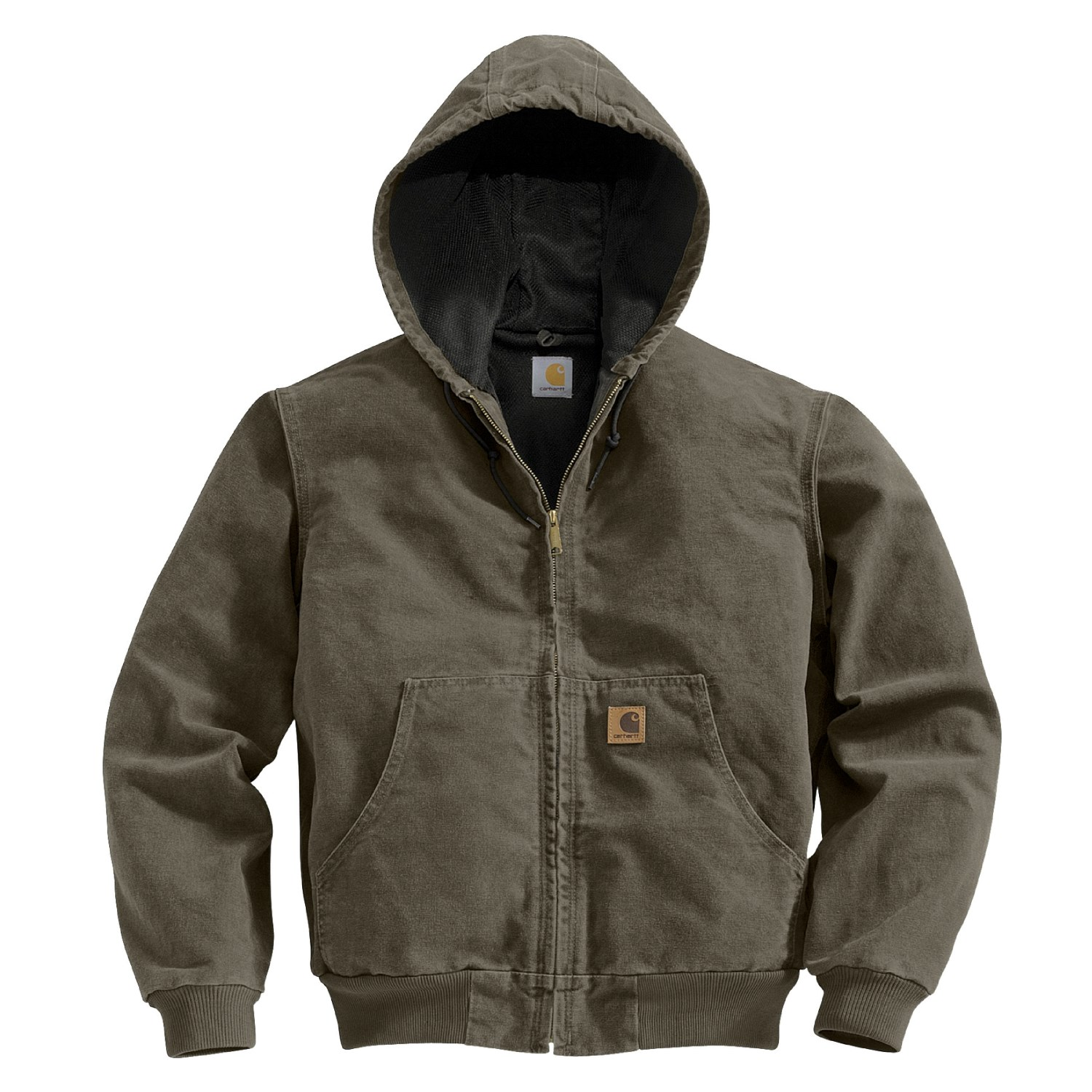 Carhartt Active Washed Duck Jacket For Men 3107n