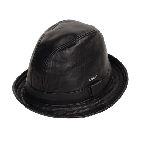 Kangol Leather Player Hat (For Men)