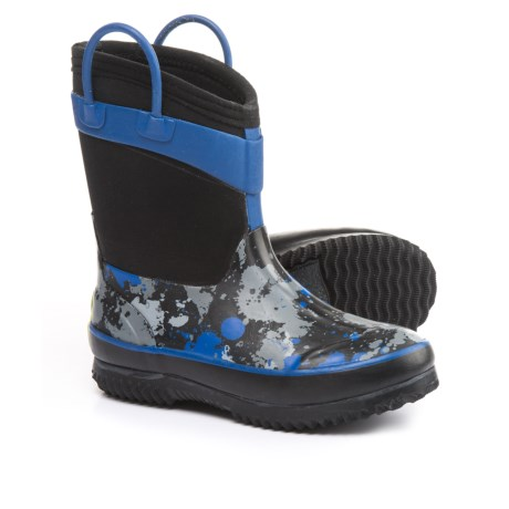 Western Chief Paintball Splat Neoprene Rain Boots - Waterproof (For Little and Big Boys)