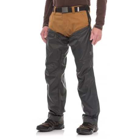 Sierra Designs Elite Rain Chaps - Waterproof (For Men and Women)