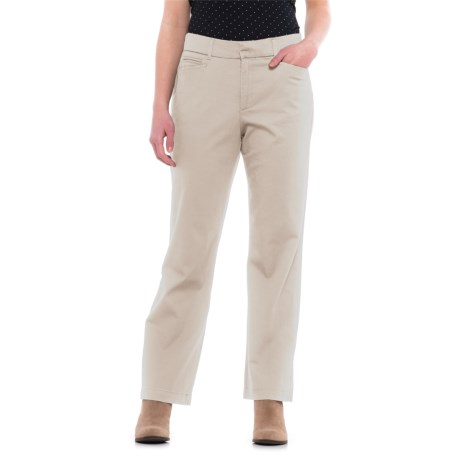 Specially made Straight-Leg Twill Pants (For Women)