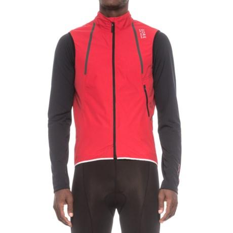 Gore Bike Wear Oxygen Windstopper® Active Vest (For Men)