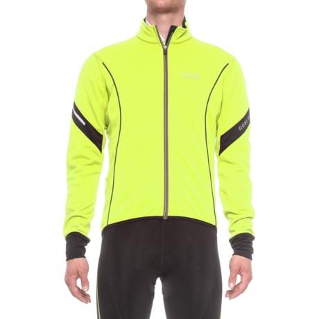 Gore Bike Wear Power 2.0 Windstopper® Soft Shell Cycling Jacket (For Men)