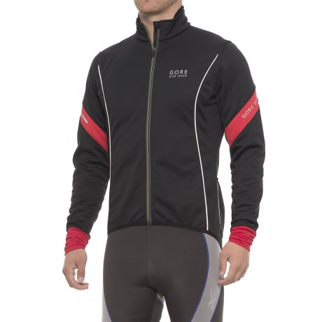 Gore Bike Wear Power 2.0 Windstopper® Soft Shell Cycling Jacket (For Men)