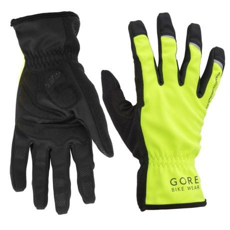 Gore Bike Wear Universal Windstopper® Gloves (For Men and Women)