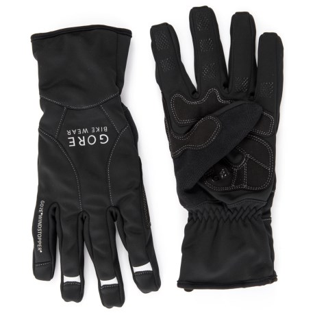 Gore Bike Wear Universal Windstopper® Mid Gloves (For Men and Women)