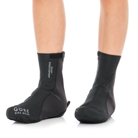 Gore Bike Wear Road Windstopper® Light Overshoes (For Men and Women)