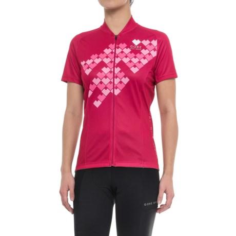 Gore Bike Wear Element Digi Heart Cycling Jersey - Short Sleeve (For Women)