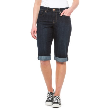 Specially made Denim Skimmer Capris (For Women)