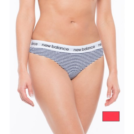 New Balance Printed Bonded Panties - Thong, 2-Pack (For Women)
