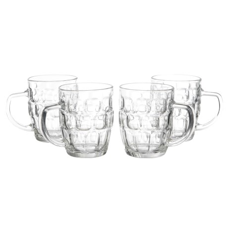 Home Essentials & Beyond Home Essentials Draft Beer Mugs - 22 fl.oz., Set of 4