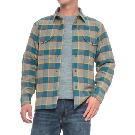Filson Lightweight Shirt Jacket - Quilt Lined (For Men)