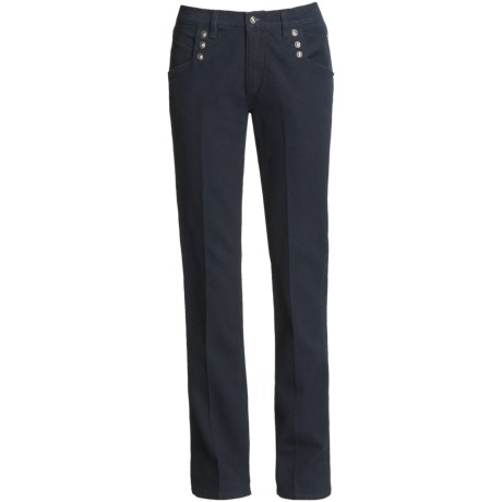 Western Ethics Denim Jeans - Straight Leg (For Women)