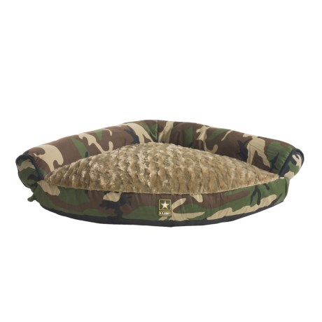 Bow-Wow Pet U.S. Army Corner Pet Bed