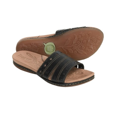 Born Laja Sandals - Leather Slides (For Women)