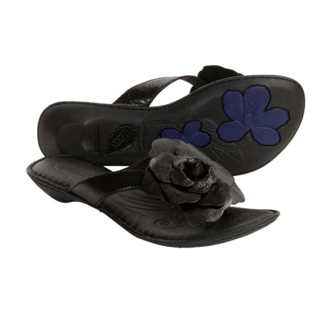 Born Gidgette Leather Sandals - Flip-Flops (For Women)