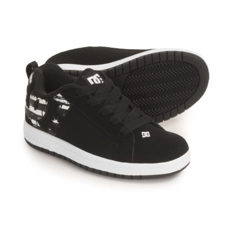DC Shoes Court Graffik SE Skate Shoes (For Youth)