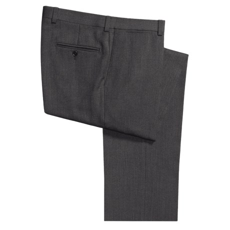 Riviera Wool Twill Pants - Flat Front (For Men)