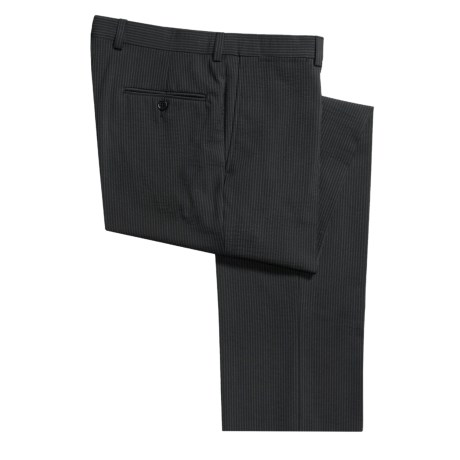 Riviera Stripe Pants - Wool, Flat Front (For Men)
