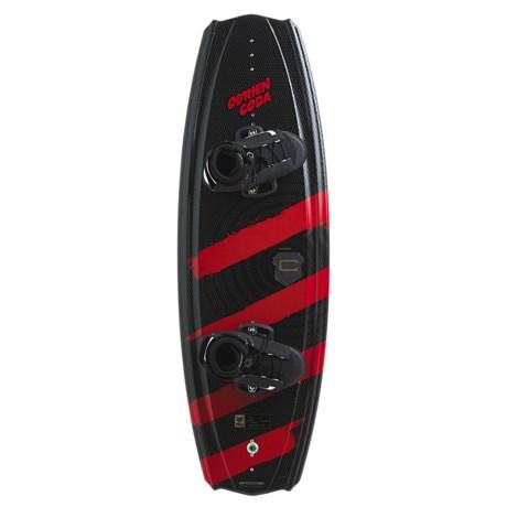O'Brien Coda Wakeboard - 129cm, Link Bindings (For Men and Women)