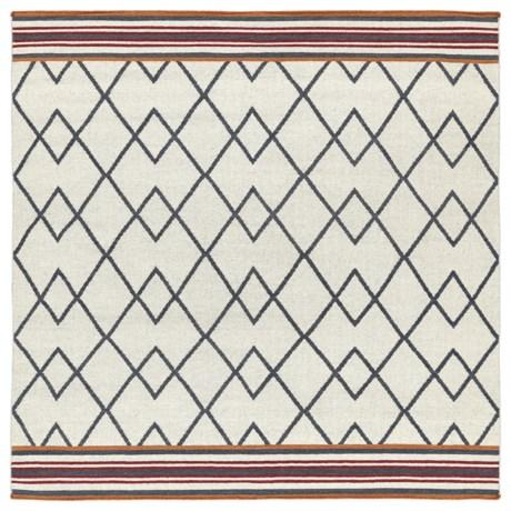 Kaleen Nomad Wool Area Rug - 8x8'
