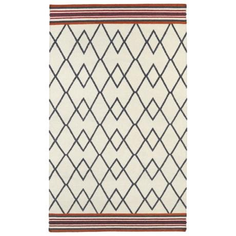 Kaleen Nomad Wool Area Rug - 8x10'