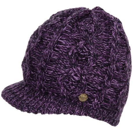 Screamer Manhattan Billed Beanie (For Women)