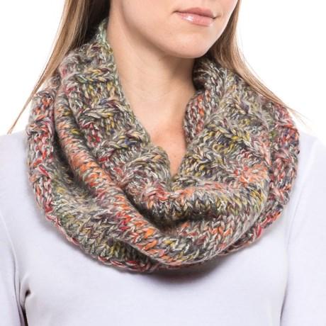 Screamer Katy Handknit Infinity Scarf - Wool Blend (For Women)