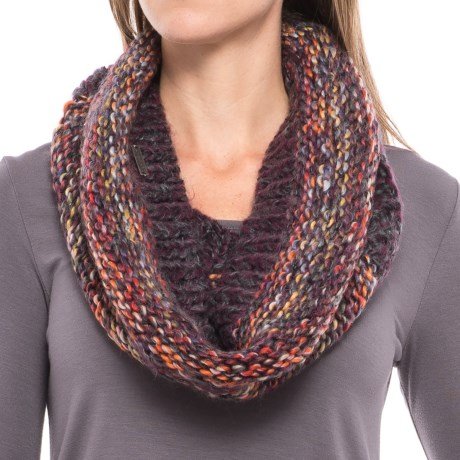 Screamer Chellene Handknit Infinity Scarf - Wool Blend (For Women)