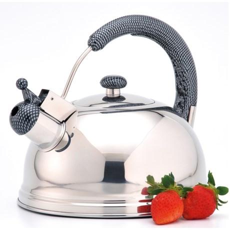 Creative Home Cobra Whistling Tea Kettle - 2.7 qt., Stainless Steel