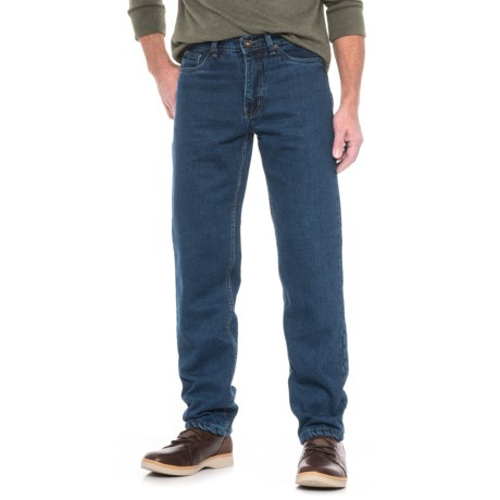 Cold Storage Flannel-Lined Jeans (For Men)