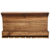 "Home Essentials & Beyond Home Essentials Reclaimed Wood Wine Rack - 35"""