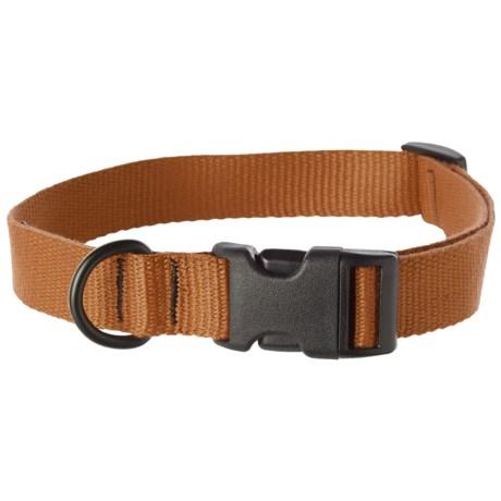 "Bison Designs Eco Web Adjustable Collar - 15-24"""