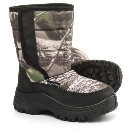 Rugged Bear Camo Pac Boots (For Little and Big Boys)