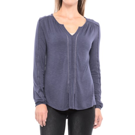 Max Jeans Ritz Shirt - Long Sleeve (For Women)