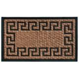 "Home and More Empress Coir-Rubber Doormat - 18x30"""