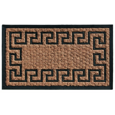 Home and More Empress Coir-Rubber Doormat - 18x30""