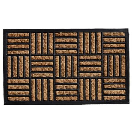"Home and More Baron Coir-Rubber Doormat - 18x30"""